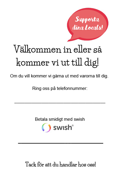 Välkommen-in-Swish